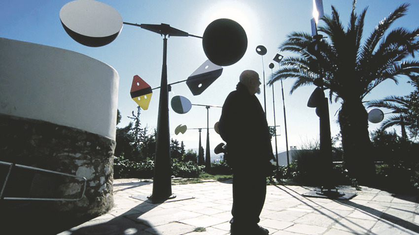 ΑΝΑΒΟΛΗ | TAKIS. Γλύπτης του μαγνητισμού, του φωτός και του ήχου