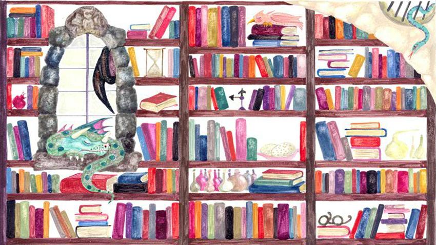 Στη βιβλιοθήκη της μάγισσας Σουμουτού 23 βιβλία έχουν φωνή!