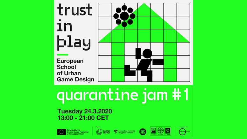 To Trust in Play μας προσκαλεί στο πρώτο Quarantine Jam!