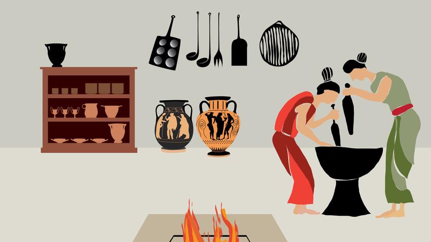 Μαγειρεύοντας στην Αρχαία Ελλάδα | E-book από το ΜΚΤ