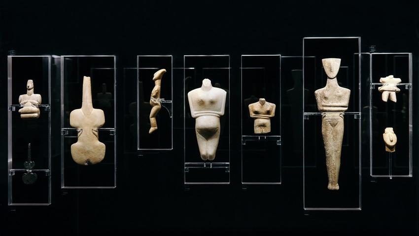 Κυκλαδική Κοινωνία. 5000 χρόνια πριν | online περιήγηση