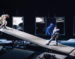 Καλιγούλας με τον Γ. Στάνκογλου   Δημοτικό Θέατρο Πειραιά