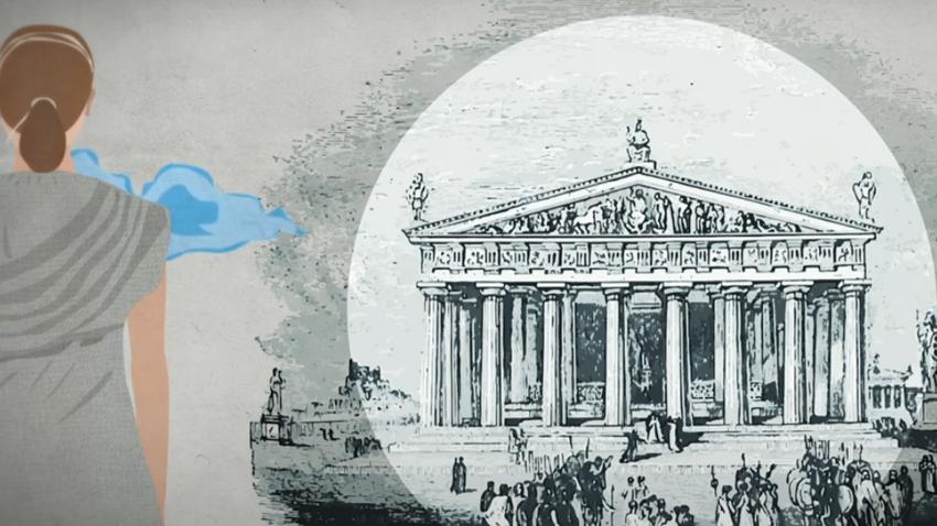 Η μικρή Αθηναία του 430 π.Χ., Μύρτιδα, στον αγώνα κατά του COVID-19   Ένα animation