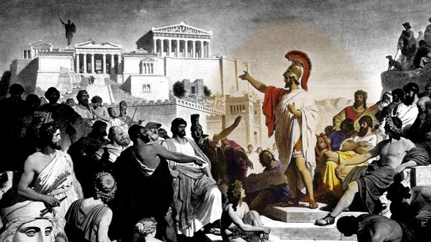 «Ήταν τρελοί αυτοί οι Αθηναίοι;»   Ένας περίπατος