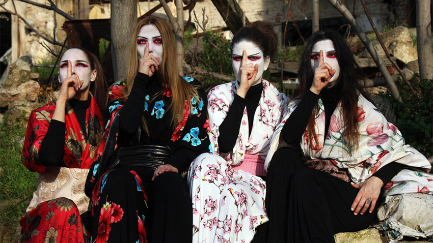 «Ιστορίες Φαντασμάτων από την Ιαπωνία» | Θεατρική Ομάδα Κωφών «Τρελά Χρώματα»
