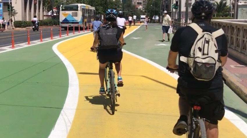 Δυο ποδηλατοβόλτες στον «Μεγάλο Περίπατο» με προορισμό τη «Σχεδία»