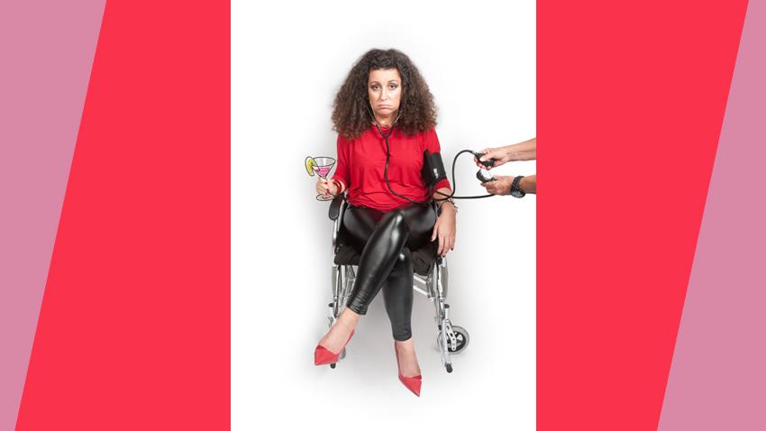 Κατερίνα Βρανά, best of: Φέτα, sex και αναπηρία