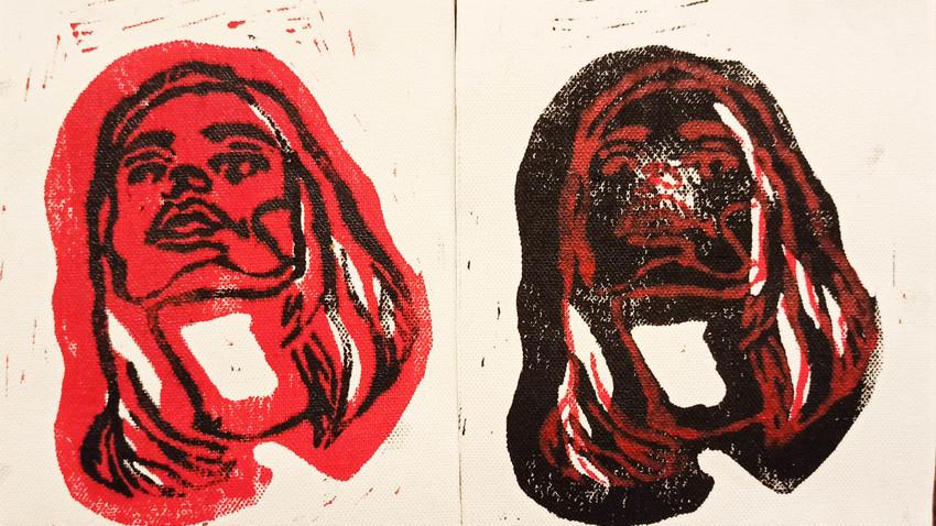 Το Κόκκινο Χρώμα | ζωγραφική, γλυπτική, video art