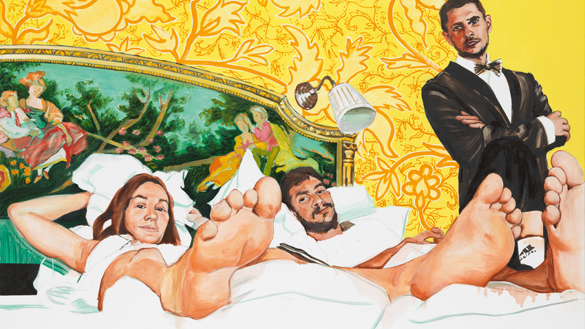 Baby Οne Μore Time | Ζωγραφική της Στέλλας Καπεζάνου