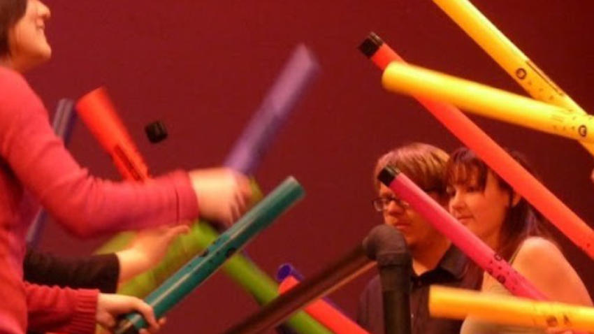 Boomwhackers! Μουσικοκινητικό εργαστήριο για παιδιά στο Μέγαρο Μουσικής
