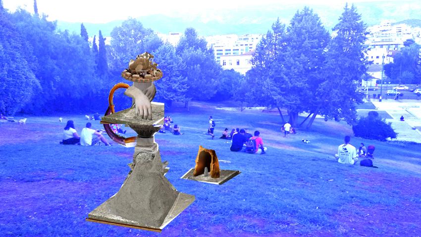 Unhappy Monuments | Υπαίθρια ομαδική έκθεση στο Πάρκο Ελευθερίας