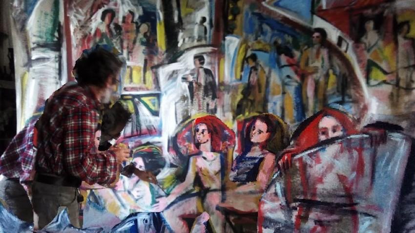 Διαδικτυακή έκθεση ζωγραφικής του Γιάννη Βακιρτζή
