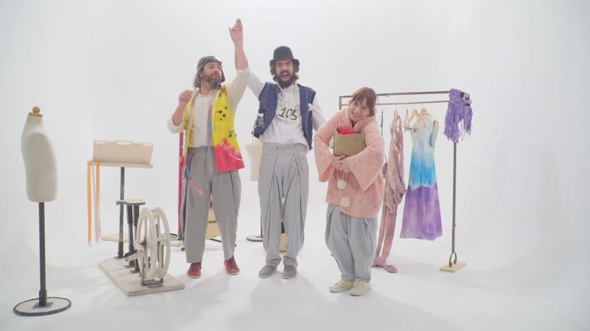 O Ραφτάκος των λέξεων | Mαγνητοσκοπημένη παράσταση και κοινωνική δράση συλλογής ρούχων