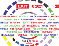 EXIT Festival : 20 χρόνια μουσικής την Πρωτοχρονιά για όλο τον κόσμο!