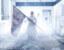 «Οι ελεύθεροι πολιορκημένοι» του Σολωμού | Σκην: Θ. Παπακωνσταντίνου
