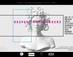 Respect Art Workers: Ψηφιακή εκστρατεία κοινωνικής ευαισθητοποίησης & ενημέρωσης για την έμφυλη βία