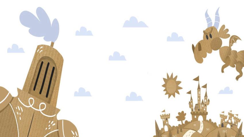 O ιππότης με τη σκουριασμένη πανοπλία   Διαδραστική διαδικτυακή παράσταση