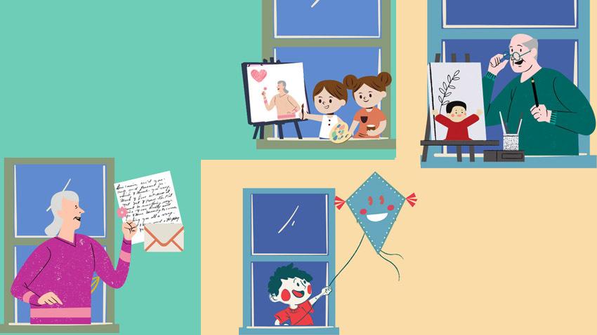 Μικροί & Μεγάλοι δημιουργούν «ο ένας για τον άλλο»!