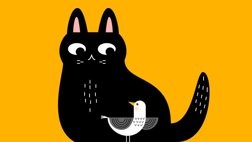 Η ιστορία του γάτου που έμαθε σ' ένα γλάρο να πετάει | Σκην. Β. Θεοδωρόπουλος
