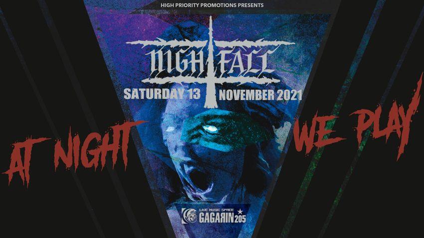 Οι Nightfall ζωντανά στο Gagarin