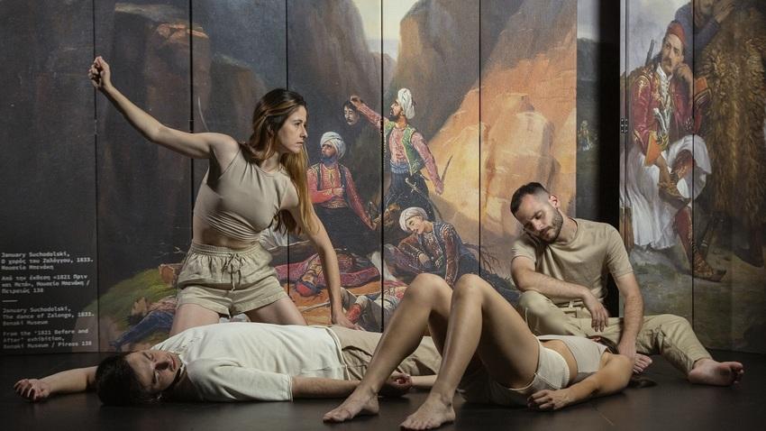 Tableaux vivants | Η τέχνη ζωντανεύει στις βιτρίνες