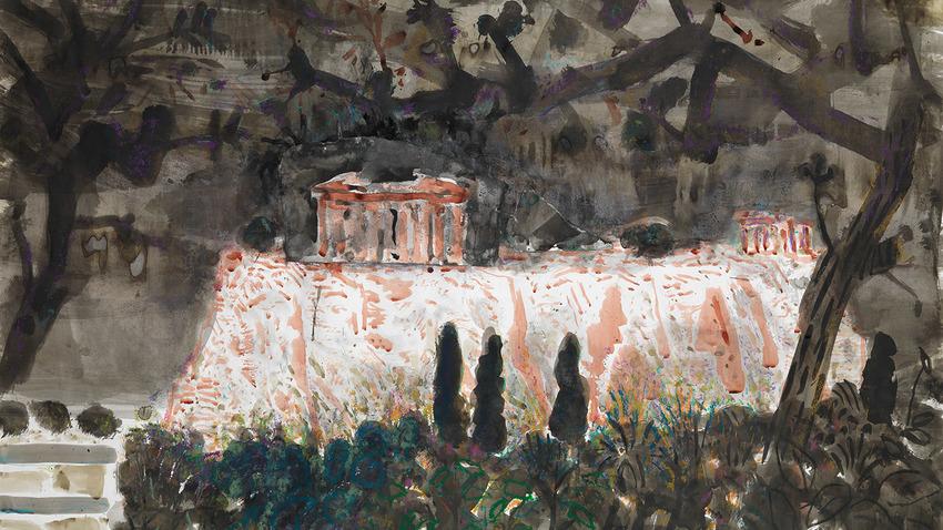 Acropolis Now   Ατομική έκθεση του Γιώργου Χαδούλη
