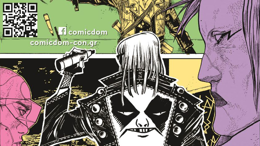 Comicdom Con Athens 2021  Η μεγαλύτερη γιορτή των comics επιστρέφει!