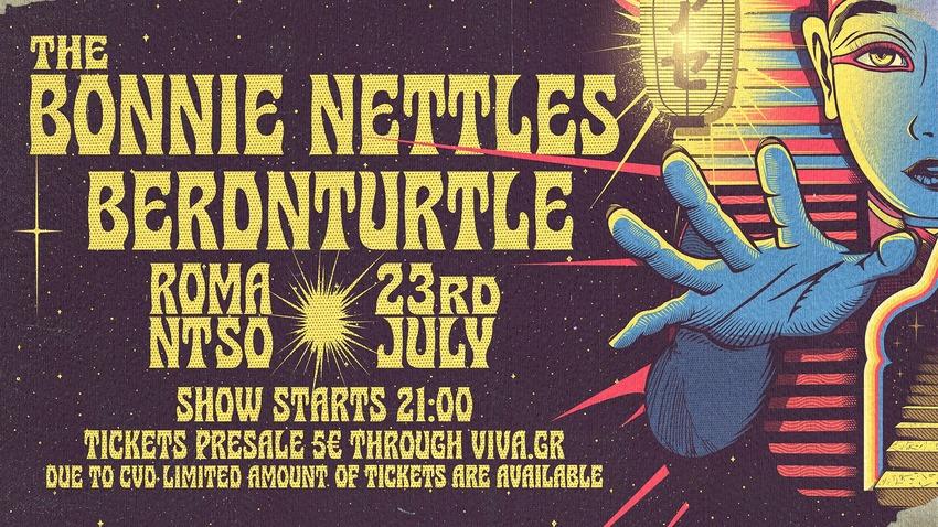 The Bonnie Nettles x Berdnturtle | Ζωντανά στο rooftop του Ρομάντσο
