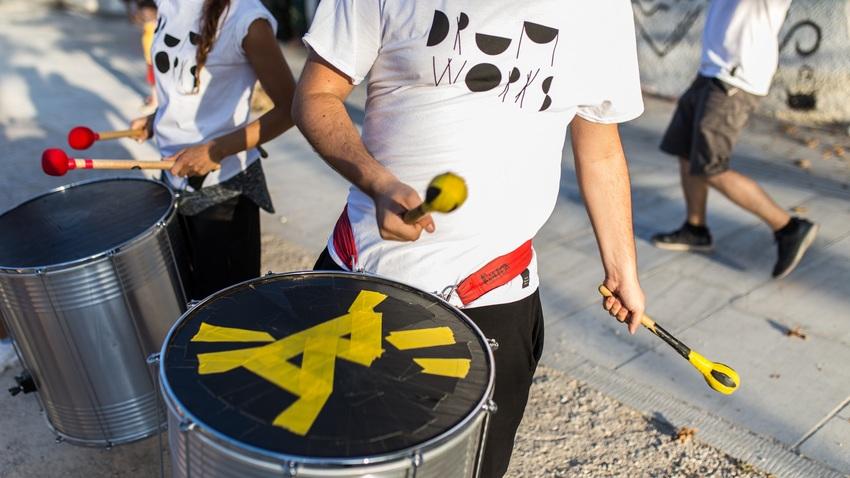 Οι Drum Works  στην Εναλλακτική Σκηνή Εθνικής Λυρικής Σκηνής
