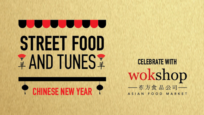 Street Food and Tunes: Chinese New Year