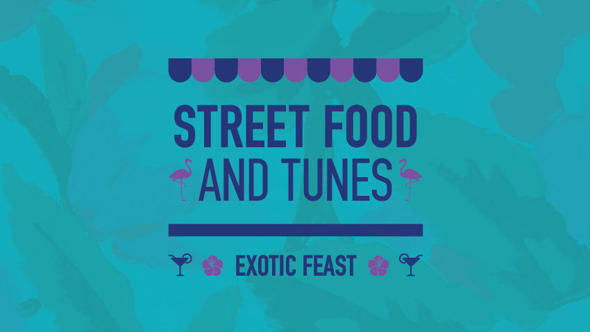 Street Food and Tunes: Exotic Feast