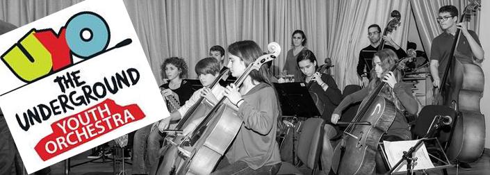 Ο Κώστας Ηλιάδης και η Underground Youth Orchestra