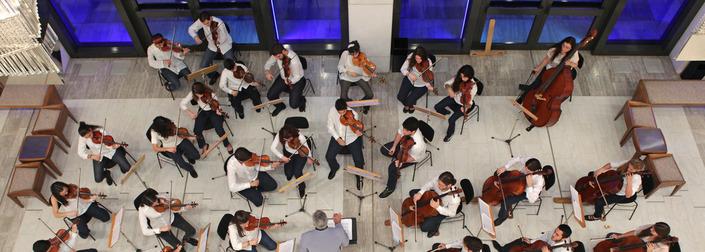 Ακροάσεις νέων μουσικών στην Camerata Junior