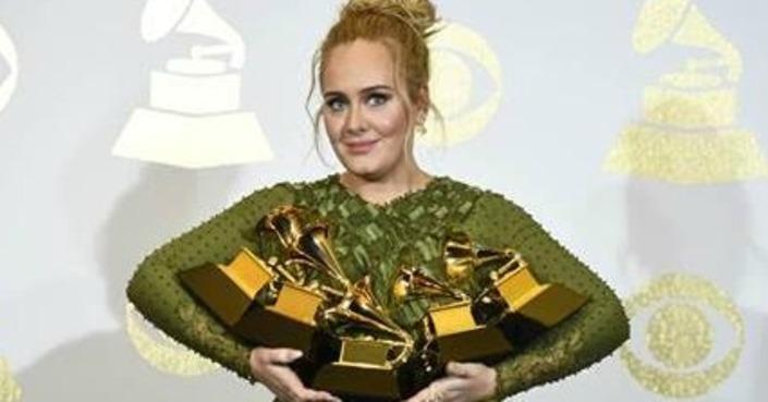 Bραβεία Grammy 2017 - Σάρωσε η Adele!