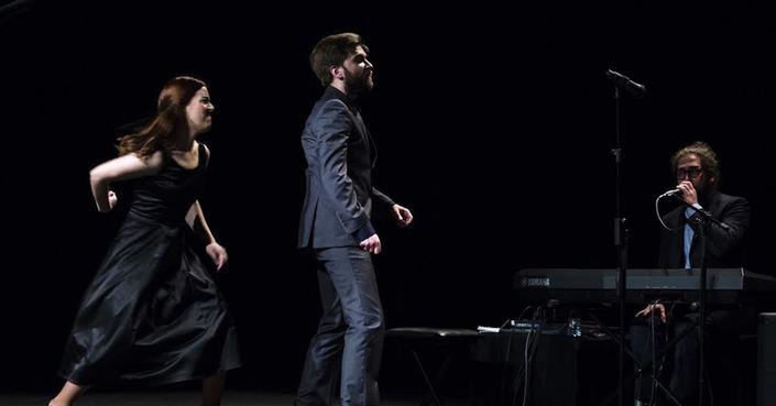 Ο Vitor Fernades από το θέατρο Jangada της Πορτογαλίας στο debόp
