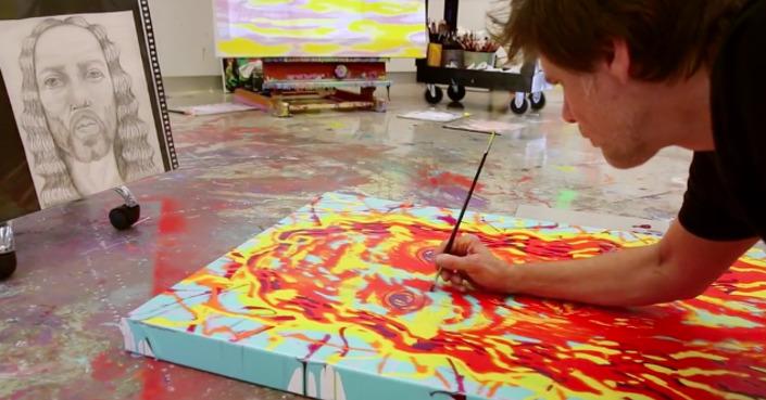 I Needed Color: Ο Jim Carrey ζωγραφίζει και είναι υπέροχος [video]