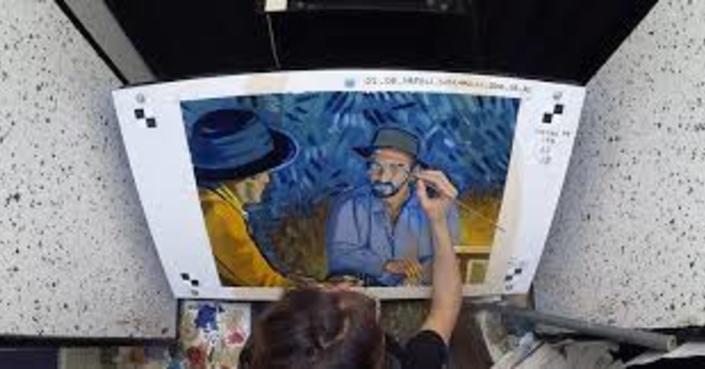 """""""Van Gogh Revisited"""" - η έκθεση των καλλιτεχνών που συμμετείχαν στην ταινία """"Loving Vincent"""""""