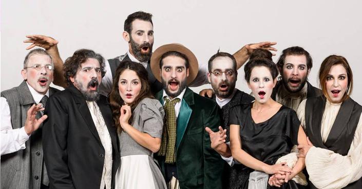 deBόp.gr goes backstage | Στα παρασκήνια του «Υπηρέτη Δύο Αφεντάδων», θέατρο Αλφα.Ιδέα [video]