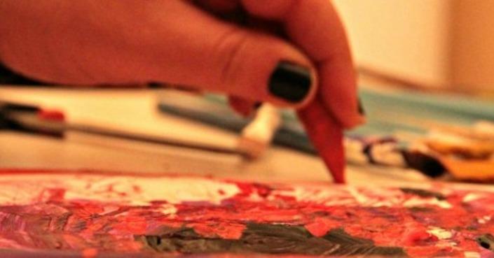 Άλκηστις Μπούρα, Ζωγραφίζοντας συναισθήματα στη φυλακή