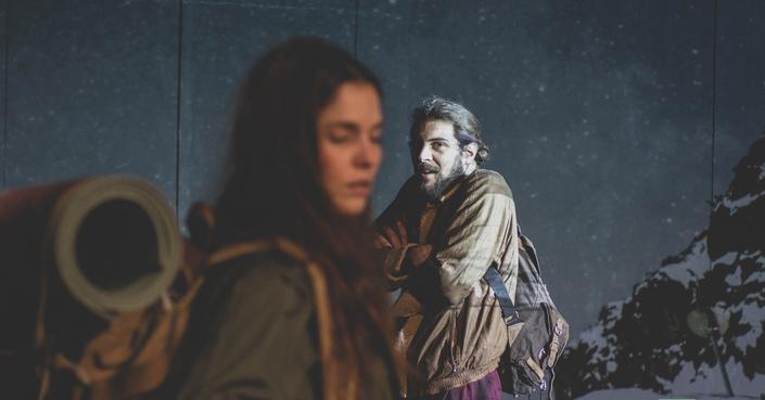 Η Μαρία Παπαφωτίου και ο Σταύρος Λιλικάκης στο deBόp