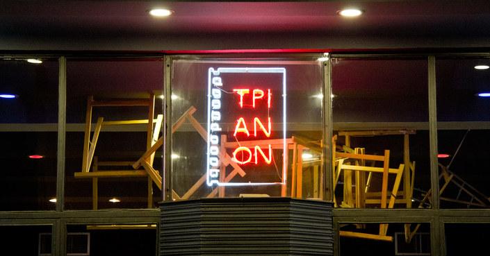 Ανακοίνωση του κινηματογράφου Τριανόν για χτύπημα εις βάρος του
