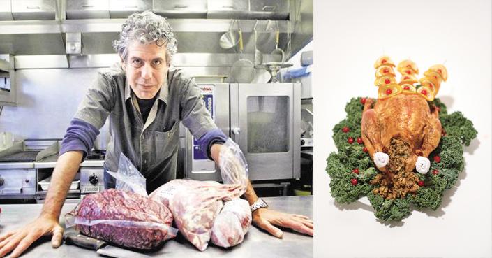 Η σάλτσα, η γέμιση και η γαλοπούλα του Antony Bourdain!