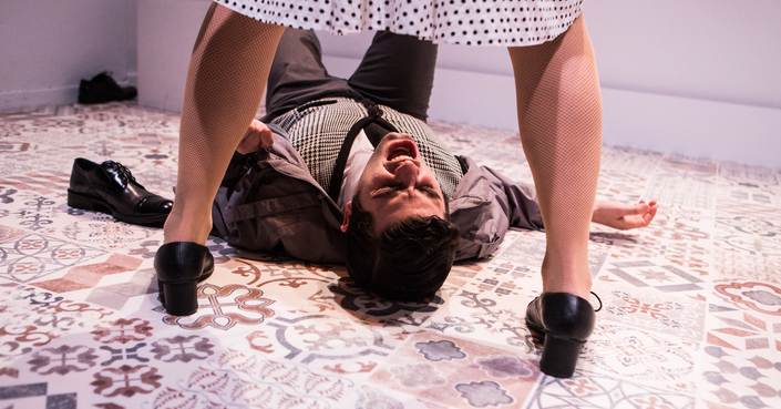 deΤalks με την ομάδα 4Frontal για την παράσταση «Mύρτος» |από το deBόp και το θέατρο Νέου Κόσμου
