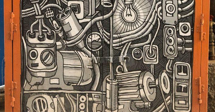 Ανοιχτή πρόσκληση για να γίνουν έργα τέχνης τα ΚΑΦΑΟ του Εμπορικού Τριγώνου