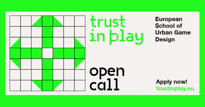 European School of Urban Game Design // OPEN CALL: TRUST IN PLAY