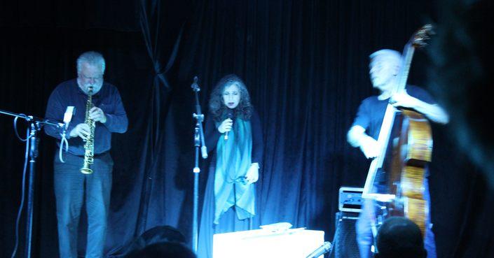 Είδαμε Maya Homburger, Barry Guy, Evan Parker & Σαβίνα Γιαννάτου  στο  Underflow!