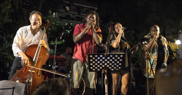 Οι τρεις ημέρες του Γιο Γιο Μα στην Αθήνα | Από «πλανόδιος μουσικός» στο λιμάνι ως το Ηρώδειο!