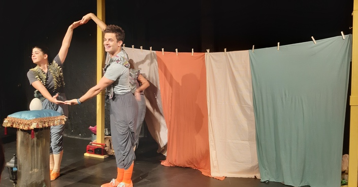 #MomAndTheCity Επιχείρηση θέατρο// Ο Λευτέρης, ένα περιστέρι δίχως ταίρι στο θέατρο Άβατον -Διαγωνισμός προσκλήσεις!