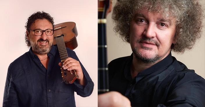 Aniello Desiderio & Zoran Dukic | Δύο από τα μεγαλύτερα ονόματα στην κλασική κιθάρα στο Χαλκηδόνιο Ωδείο