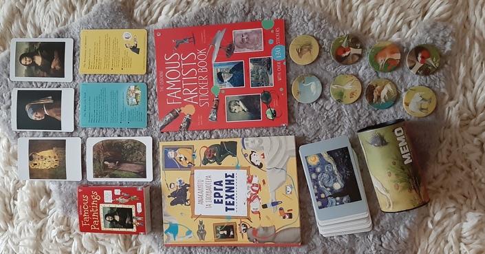 #MomAndTheCity Επιχείρηση Μάθε Τέχνη Κι Άστην // Ανακαλύπτοντας τα σπουδαιότερα Έργα Τέχνης με τα παιδιά - Διαγωνισμός  βιβλίων!
